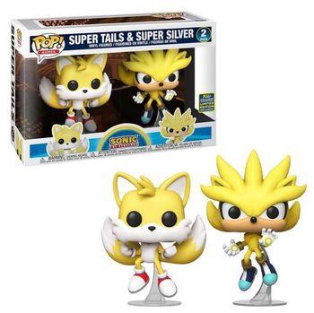 image de Super Tails & Super Silver (2-Pack) [Summer Convention]