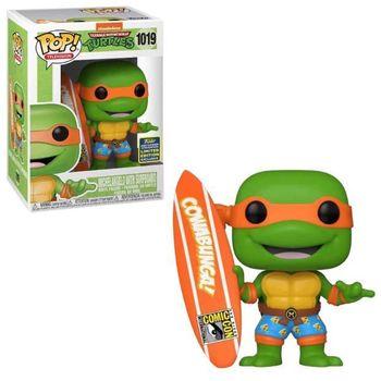 image de Michelangelo with Surfboard [Summer Convention]