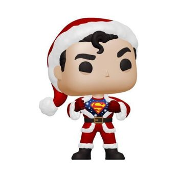 image de Superman in Holiday Sweater (Flocked)