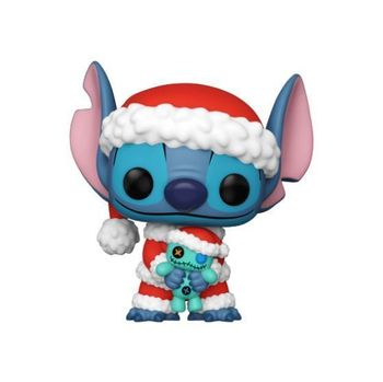 image de Santa Stitch with Scrump