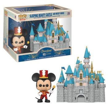 image de Sleeping Beauty Castle and Mickey Mouse