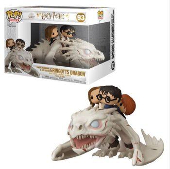image de Harry, Hermione & Ron Riding Gringotts Dragon