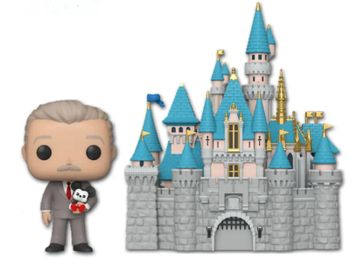 image de Sleeping Beauty Castle and Walt Disney (Holding Mickey Mouse)