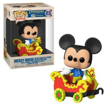 image de Mickey on the Casey Jr. Circus Train Attraction