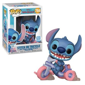 image de Stitch on Tricycle