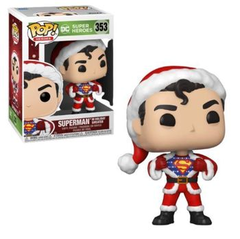 image de Superman in Holiday Sweater
