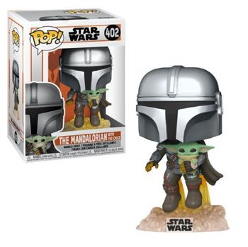 image de The Mandalorian with The Child (Flying)