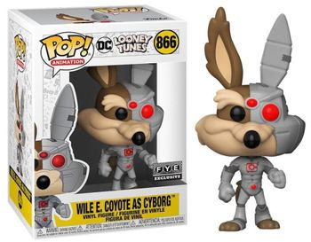 image de Wile E. Coyote As Cyborg