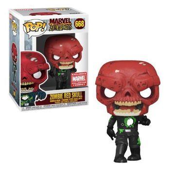 image de Zombie Red Skull