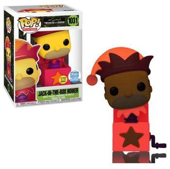 image de Jack-in-the-Box Homer (Glow in the Dark)