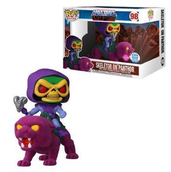 image de Skeletor on Panthor (Flocked)