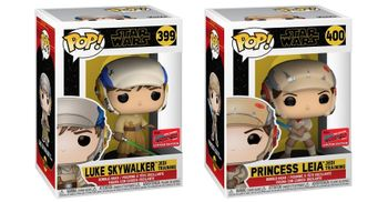 image de Luke Skywalker and Princess Leia (Jedi Training) (2-Pack Bundle) [Fall Convention]