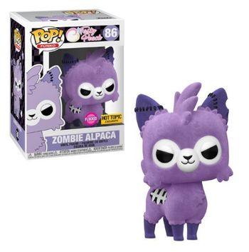 image de Zombie Alpaca (Purple) (Flocked)