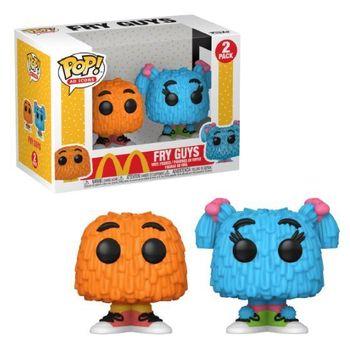 image de Fry Guys (Orange & Blue) (2-Pack)