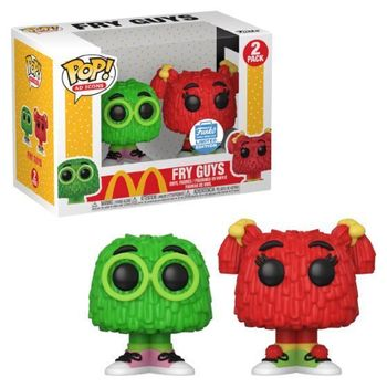 image de Fry Guys (Green & Red) (2-Pack)