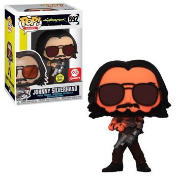 image de Johnny Silverhand (Sunglasses) (Glow in the Dark)