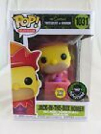 image de Jack-in-the-Box Homer (Glow in the Dark) (Popcultcha)