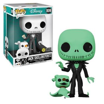 image de Jack Skellington with Zero (10-Inch) (Glow)