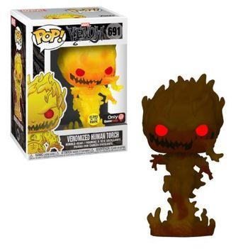 image de Venomized Human Torch (Glow in the Dark)