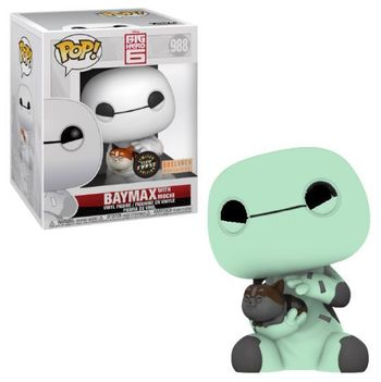 image de Baymax with Mochi (Glow in the Dark)