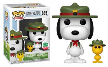 image de Beagle Scout Snoopy With Woodstock