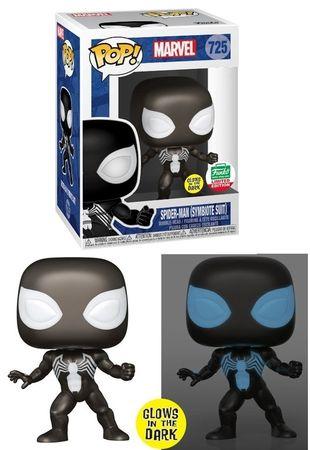 image de Spider-Man (Symbiote Suit) (Glow in the Dark)