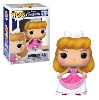 image de Cinderella (Pink Dress) (Diamond Glitter)